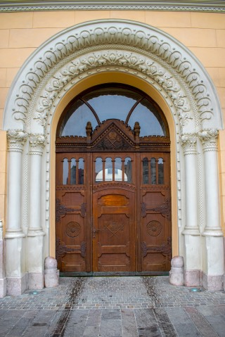 Sinagoga Neologă Sion din Oradea (exterior)
