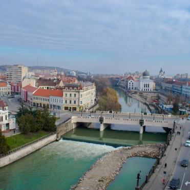 Oradea - vedere din Turnul Primăriei
