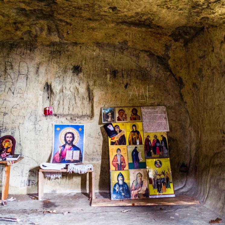 Chilia lui Dionisie Torcătorul (interior)