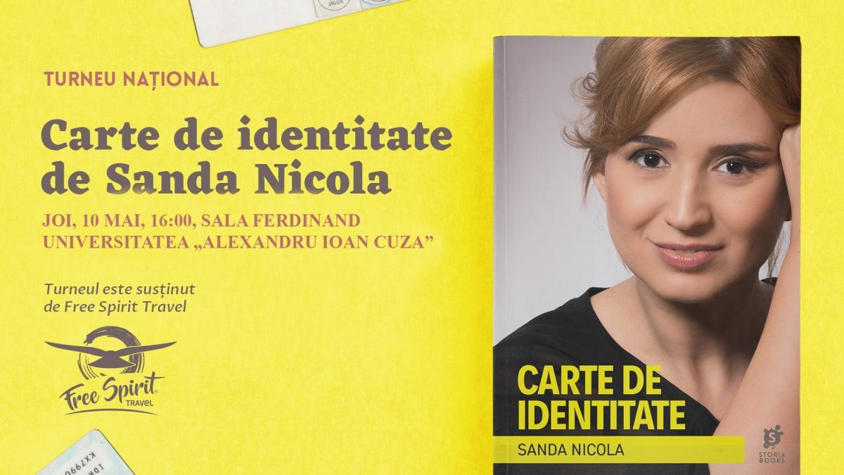 """Anunț: am găsit o """"carte de identitate"""" cu numele Sanda Nicola"""